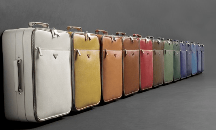 Prada Luggage Set