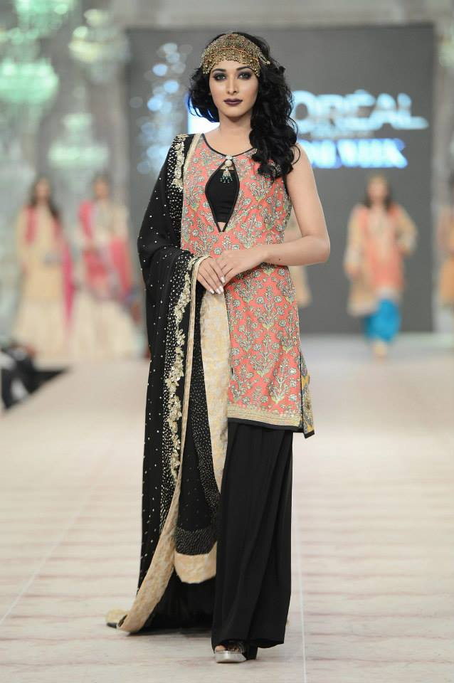 Zara shahjahan at pfdc l oreal paris bridal week collection 2014 7 fashion - Zara paris collection ...