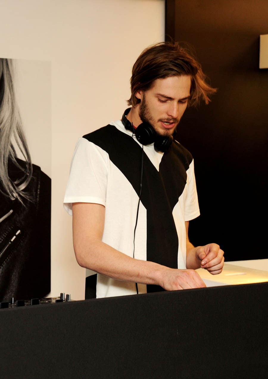 DJ Giles Y 3 Opens Flagship Store At Conduit Street In London