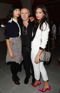 Mimi Xu, Damien Hirst and Roxie Nafousie