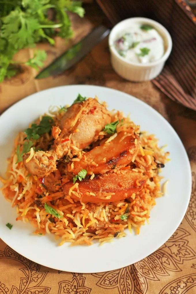 Pakistani Chicken Biryani Recipe-Chicken Biryani Pakistani Style - Fas ...