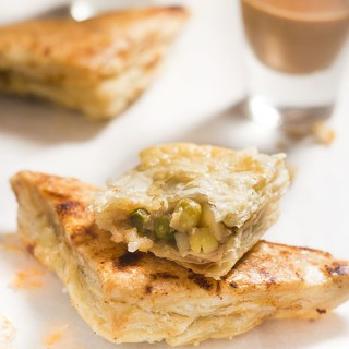 Veg Puff recipe, Learn how to make vegetable puffs pastry. A easy to make vegetable filling that goes pretty awesome with the puff pastry and which will be your perfect tea time snack.