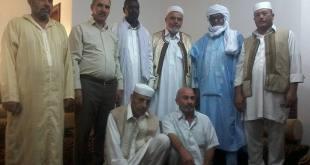 حكماء وأعضاء المجالس البلدية الامازيغية بمنطقة جبل نفوسه يستأنفون جهود المصالحة بين التبؤ والطوارق