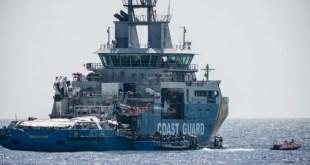 خفر السواحل الإيطالية العثور على خمسين جثة لمهاجرين في قاع مركب قبالة المياه الليبية