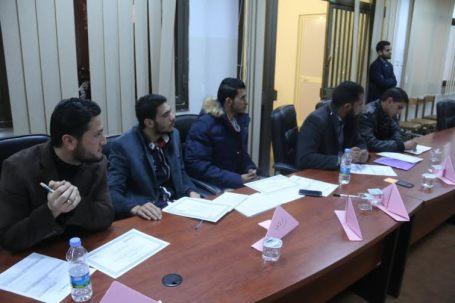 المعهد الجمهوري الدوري يقدم دورة تدريبية في ادارة التغيير والتفكير الابداعي لموظفي بلدية صبراتة8