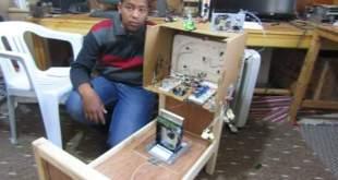 شاب من غدامس يخترع سريرا متعدد المزايا لذوي الاحتياجات الخاصة