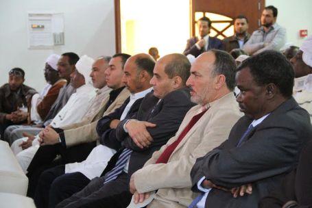 هيئة الأساتذة السودانيين بجامعة الزاوية تحتفل بالذكرى الستين لاستقلال جمهورية السودان بصبراتة 00