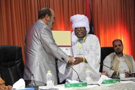 هيئة الأساتذة السودانيين بجامعة الزاوية تحتفل بالذكرى الستين لاستقلال جمهورية السودان بصبراتة 896