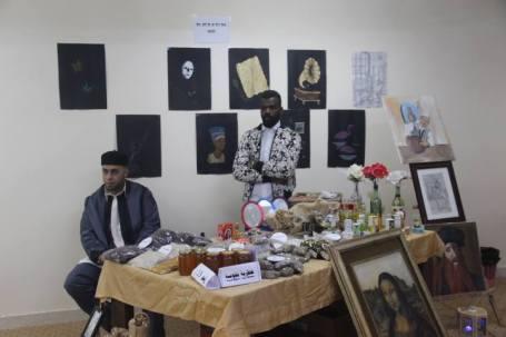 بازار خيري بمدينة يفرن3