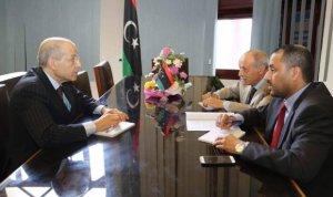 المجلس الاعلى للدولة يبحث مع المصرف ليبيا المركزي
