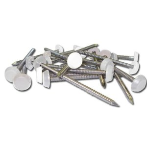 Polytop Pins and Nails White | Tools and accessories | Sealant | Cleaners | Installer Tools | Fixings | Faster Plastics