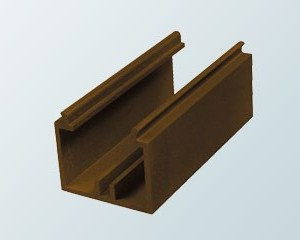 Aluminium Cresting Channel | Timber Glazing Bars | Faster Plastics