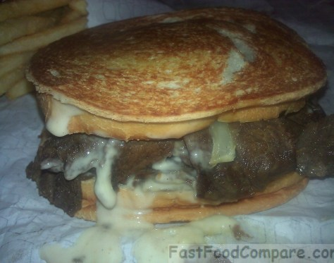 Jack in the Box Sourdough Cheesesteak Melt