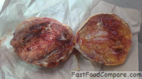 Burger King Memphis BBQ Pulled Pork Sandwich - Open