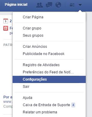 Como recuperar conversas excluidas do Facebook