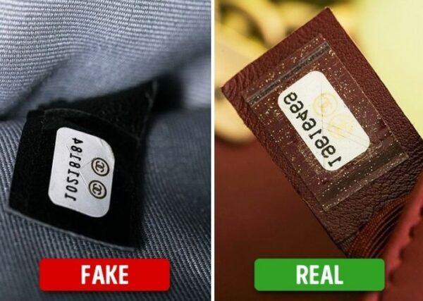 Aprenda a diferenciar o falso do origianal