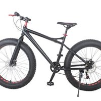 Fat Tire Mountain Bike, 26 x 4 Tires, aluminum frame