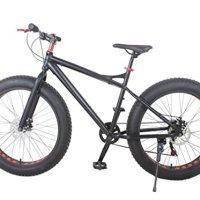 Fat Tire Mountain Bike, 26 x 4 Tires, aluminum frame