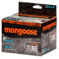 "Mongoose MG78470-6 Fat Tire Tube, 24 x 4.0""/4.9"""