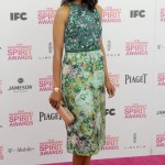 Floral Fun in Giambattista Valli Couture at the Independent Spirit Awards.