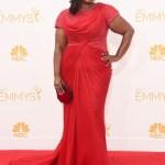 Octavia Spencer Tadashi Shoji Emmys 2014