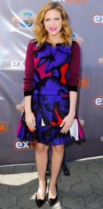 Brittany Snow Matching Set_Rachel Fawkes San Francisco Fashion Stylist