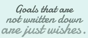 goalswrite