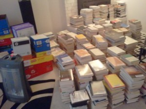 My epic book-buying road trip: 1,200 books in 20 days