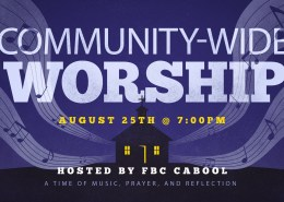 Community-Wide Worship