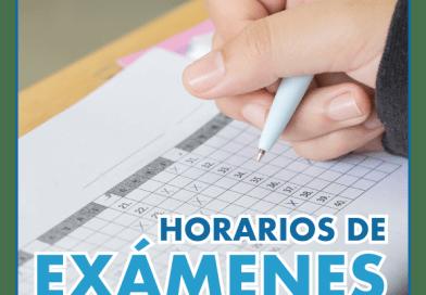 Horarios De Examenes.