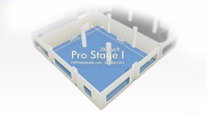 FD Photo Studio Pro Stage 1 with Cyc wall