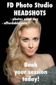 FD Photo Studio headshots banner