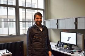 Oscar Luna Mesonero, Product Development Engineer