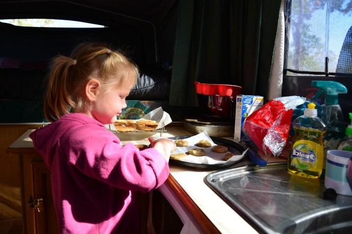 Lexi loves to bake!
