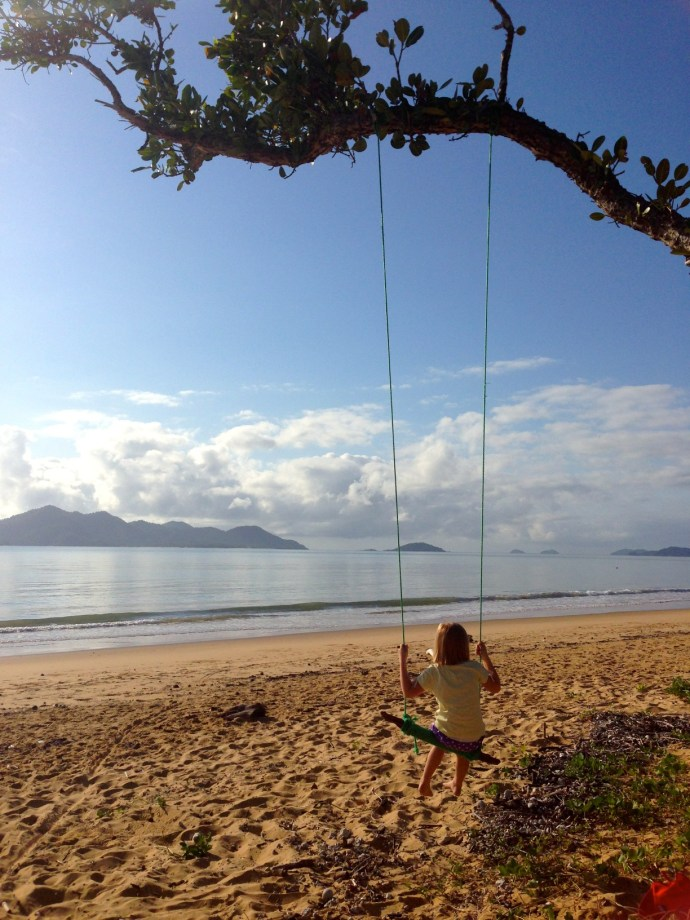 Next was this fantastic swing!