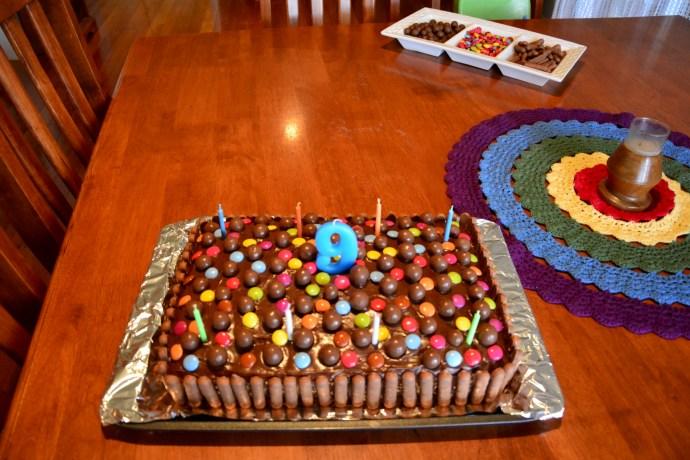Jack's 9th Birthday Cake