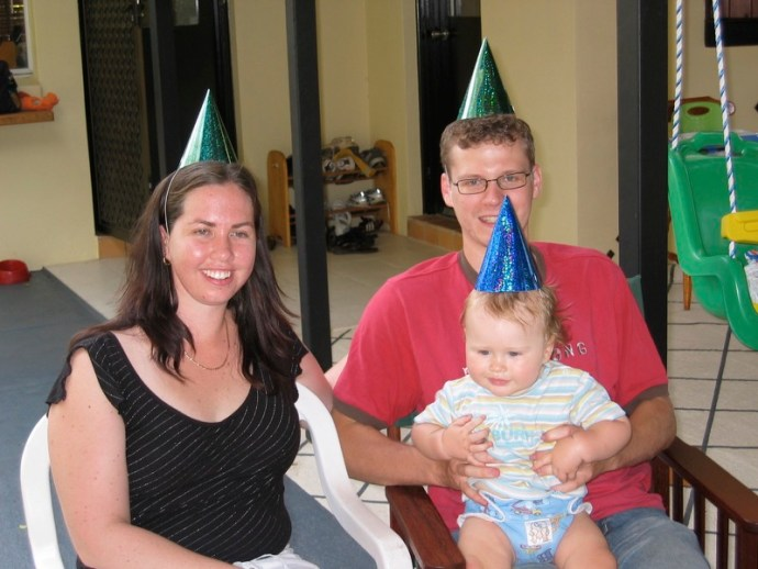 The Fealy Family - Jack's 1st Birthday