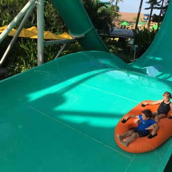 Waterpark fun - so awesome!