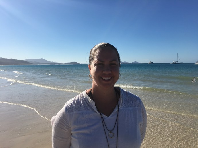 I had a trip to Airlie Beach for work and got to visit Whitehaven Beach in the Whitsundays - spectacular