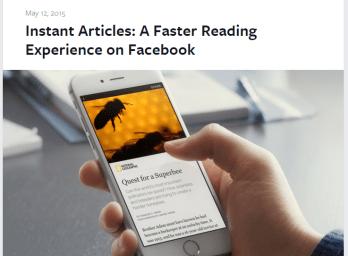 Facebook Instant