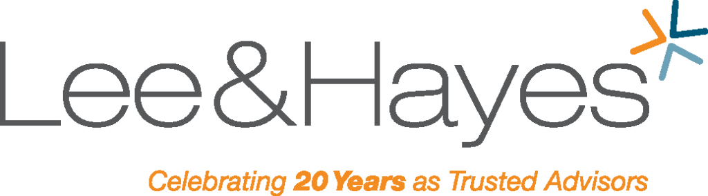 Lee & Hayes: Defining the brand of a professional intellectual property law firm Logo