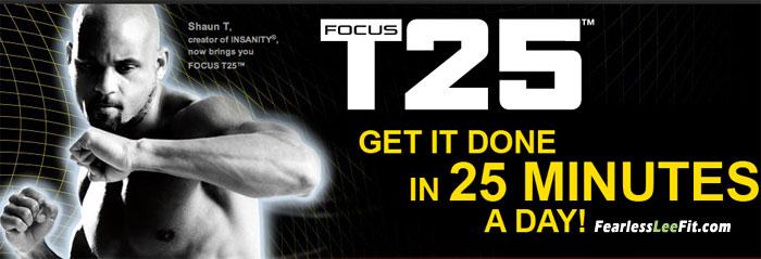Shaun T's Focus T25 – Special Promotion!