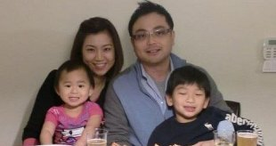 My family and I in 2012.