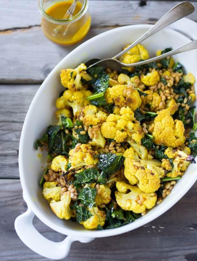 cauliflower farro salad-605-2