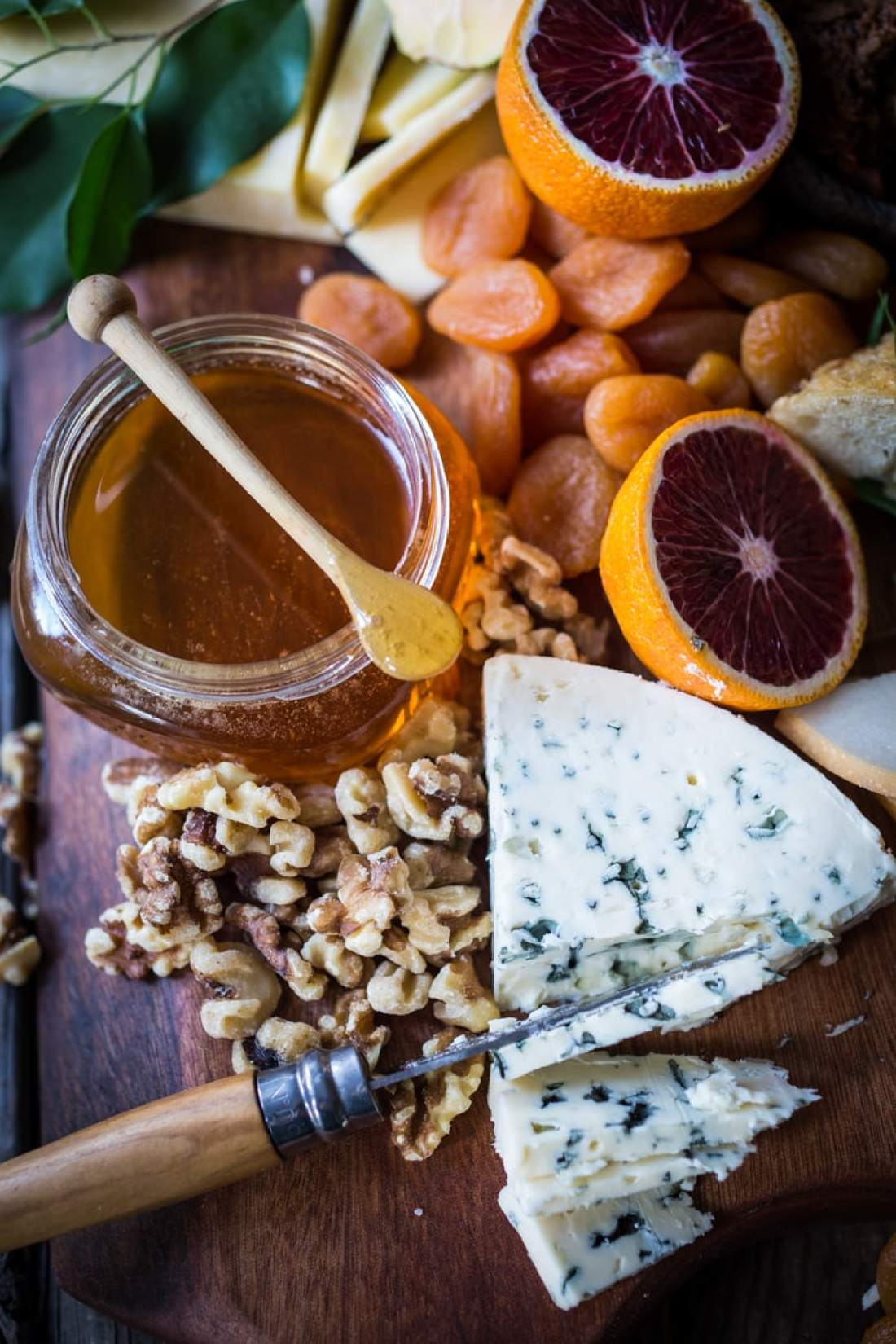 Winter Cheese Board with Blood Orange Marmalade and Castello cheeses ...