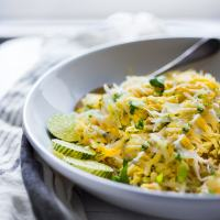 JICAMA MANGO SLAW WITH CILANTRO AND LIME