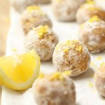 Lemon Millet Bliss Balls