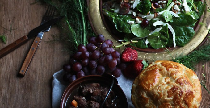 Game of Thrones: Summer Greens Salad