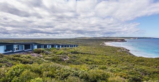 Southern Ocean Lodge Arrival