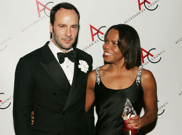 At the Accessories Council Awards in 2005
